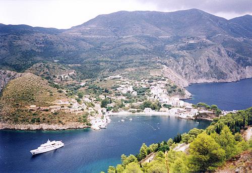 Griechenland Insel Kefalonia Fotos