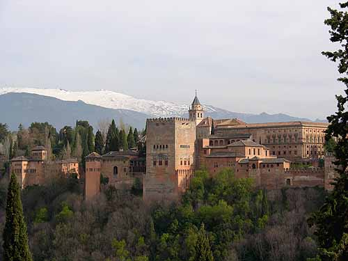 Spanien Andalusien Alhambra