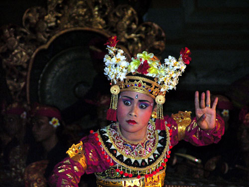 Insel Bali Denpasar Kuta Jimbaran Ubud Legong Tanz Tempel auf Bali Kultur Sehenswürdigkeiten Reisterrassen Insel Bali -Indonesien