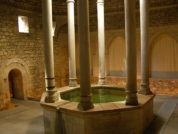 Girona los banos arabes die arabischen b der - Banos arabes de girona ...