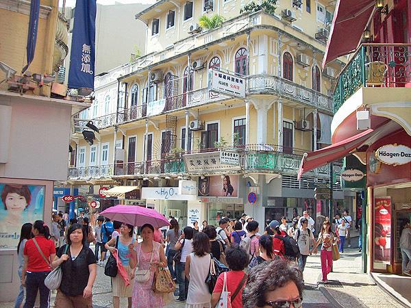 Macau Altstadt